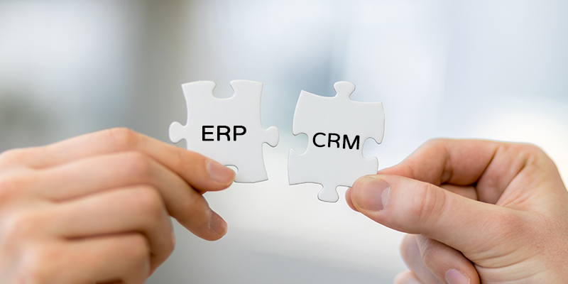 integrating erp with crm Our team of software integration specialists provides seamless crm and erp integration solutions for improved business processes.