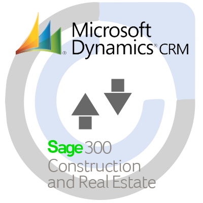 Sage 300 Construction and Real Estate ERP and Microsoft Dynamics 365 CRM