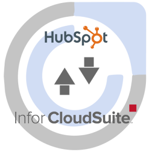 HubSpot CRM and Infor CloudSuite ERP