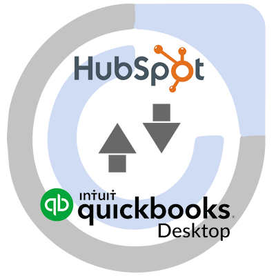 QuickBooks Desktop ERP and HubSpot CRM