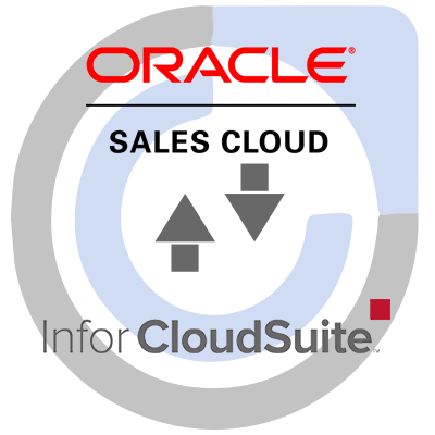 Oracle Sales Cloud CRM and Infor CloudSuite ERP